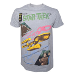 Star Trek - Grey Melange Alien Invading (T-SHIRT Unisex )