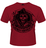 Sons Of Anarchy - Reaper Banner (T-SHIRT Unisex )