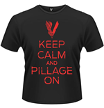 Vikings - Keep Calm (T-SHIRT Unisex )