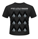 Stiff Little Fingers - Inflammable Material (T-SHIRT Unisex )