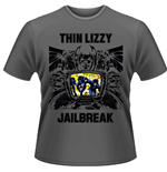Thin Lizzy - Jailbreak (GREY) (T-SHIRT Unisex )