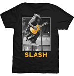 Slash - Guitar Jump Black (T-SHIRT Unisex )