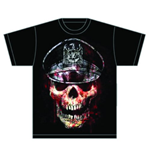 Slayer - Skull Hat (T-SHIRT Unisex )