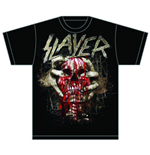 Slayer - Skull Clench (T-SHIRT Unisex )
