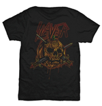 Slayer - Skull Pumpkin Black (T-SHIRT Unisex )