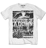 System Of A Down - Torn White (T-SHIRT Unisex )