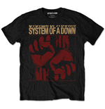 System Of A Down - Fisticuffs Black (T-SHIRT Unisex )