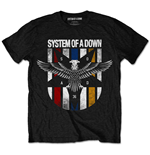 System Of A Down - Eagle Colours Black (T-SHIRT Unisex )