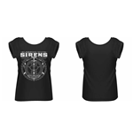 Sleeping With Sirens - Crest Rolled Sleeve (T-SHIRT Donna )
