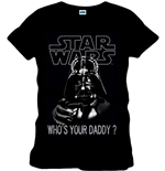 Star Wars - WHO'S Your Daddy Black (T-SHIRT Unisex )