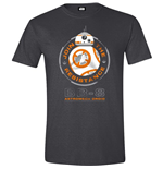 Star Wars - The Force Awakens - BB-8 Astromech Droid Anthracite Melange (T-SHIRT Unisex )