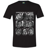 Star Wars - Expression Of A Wookiee Black (T-SHIRT Unisex )