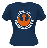 Star Wars - The Force Awakens - Join The Resistance (T-SHIRT Donna )