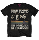 Pink Floyd - Vintage Stripes Black (T-SHIRT Unisex )