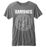 Ramones - BURN-OUT Presidential Seal Grey (T-SHIRT Unisex )