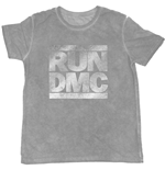 Run Dmc - Foiled Logo Grey (T-SHIRT Unisex )