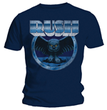 Rush - Fly By Night Vignette Blue (T-SHIRT Unisex )