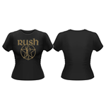 Rush - Metallic Starman (T-SHIRT Donna )