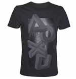 Playstation - Buttons Impossible Perspective Artwork (T-SHIRT Unisex )