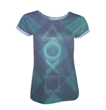 Playstation - Subblimation (T-SHIRT Donna )
