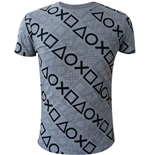 T-shirt Playstation - Allover Print
