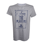 Playstation - Grey Vintage With Logo (T-SHIRT Unisex )