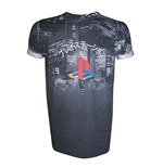 Playstation - Sublimationt City Landscape (T-SHIRT Unisex )