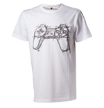 Playstation - White Controller (T-SHIRT Unisex )