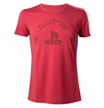 Playstation - Red Melange Print 1994 (T-SHIRT Unisex )