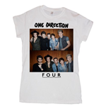 One Direction - Four (T-SHIRT Donna )