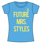 One Direction - Future Mrs Styles (T-SHIRT Donna )