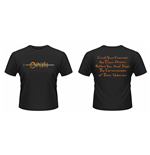 Opeth - Crush Your Enemies Front & Back Print (T-SHIRT Unisex )