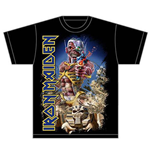 Iron Maiden - Somewhere Back In Time (T-SHIRT Unisex )