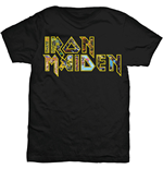 Iron Maiden - Eddie Logo Black (T-SHIRT Unisex )