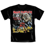 Iron Maiden - Number Of The Beast Black (T-SHIRT Unisex )