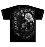Iron Maiden - Number Of The Beast Grey Tone (T-SHIRT Unisex )