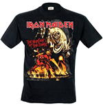 Iron Maiden - Number Of The Beast Graphic (T-SHIRT Unisex )