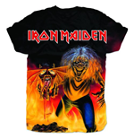 Iron Maiden - Number Of The Beast Sublimation Print (T-SHIRT Unisex )