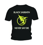 Black Sabbath - Never Say Die (T-SHIRT Unisex )