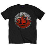 Black Sabbath - 13 Flame Circle Black (T-SHIRT Unisex )