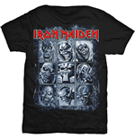 Iron Maiden - Nine Eddies Black (T-SHIRT Unisex )