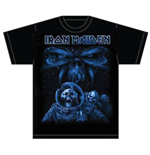 Iron Maiden - Final Frontier Blue Album Spaceman (T-SHIRT Unisex )