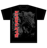 Iron Maiden - Hi Contrast Trooper (T-SHIRT Unisex )