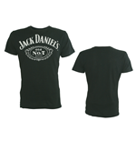 Jack DANIEL'S - Black Old No 7 Logo (T-SHIRT Unisex )