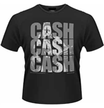 Johnny Cash - Cash Cash Cash (T-SHIRT Unisex )