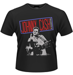 Johnny Cash - The Bird (RED) (T-SHIRT Unisex )