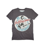 Rolling Stones (THE) - Tour 82 Charcoal (T-SHIRT Donna )