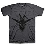 Alice In Chains - Black Skull (unisex )