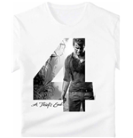 "Uncharted - Chest Print In ""4"" A Thiefs End (T-SHIRT Unisex )"
