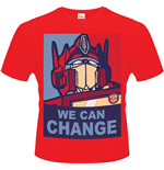 Transformers - We Can Change (T-SHIRT Unisex )